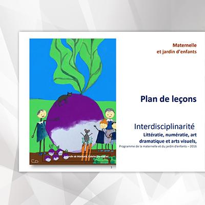 Plan de leçons