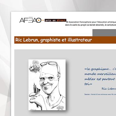 Artiste-graphiste-Ric-Lebrun